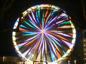 Das Riesenrad am Burgplatz