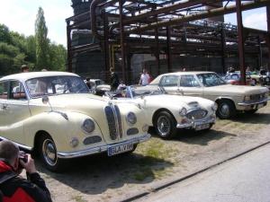 BMW 502 V8 Barockengel Baujahr 1954