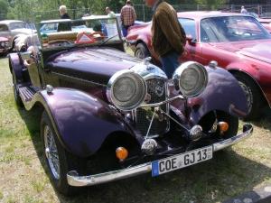Jaguar type SS100 Cabriolet