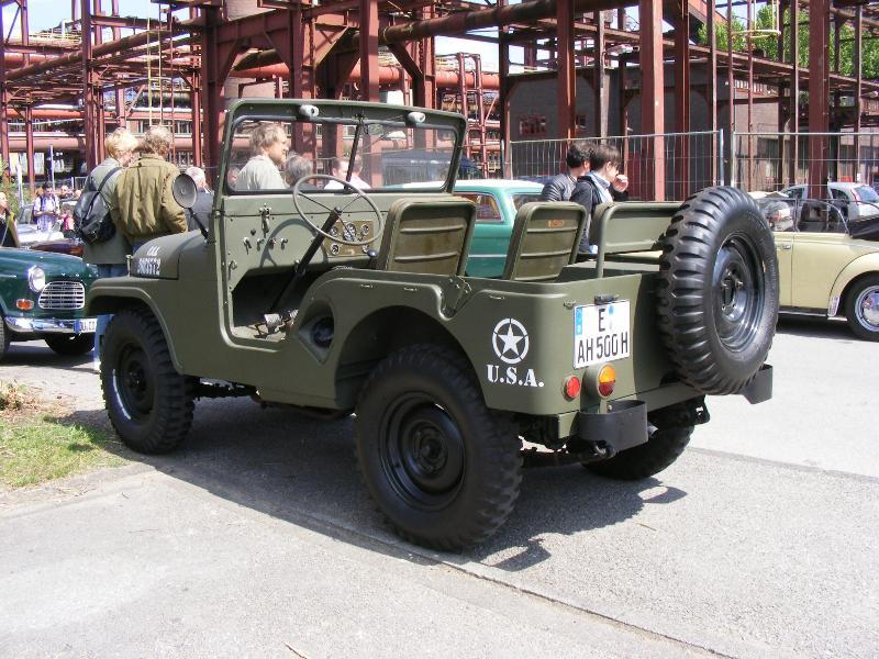 Willys Overland MB Jeep Baujahr 1949